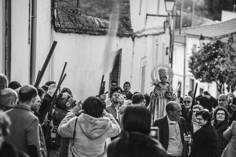 Escopetas Santos Mártires Portezuelo