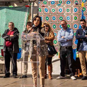 Autoridades en el día del a mujer en Portezuelo